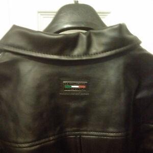 Emporio Armani Classic Leather Jacket -New / Never Worn /Replica Cambridge Kitchener Area image 4