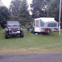 Skamper 170x tent trailer