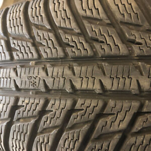P235/55R19 NOKIAN WRG3 ALL WEATHER TIRES