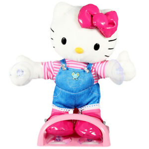 Hello Kitty Large Dance Time Doll Sticks to Car Window BRAND NEW