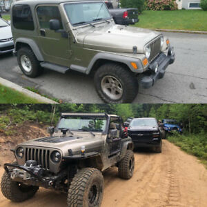 Jeep TJ 2006 (Beaucoup investi $$)