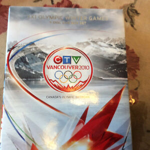 Vancouver Olympics 2010 5disc dvd box set Winter Games & Book