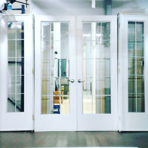 Glass French Doors for sale @HFHGTA