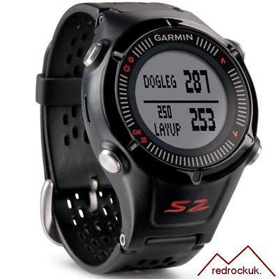 Garmin Approach S2 GPS Golf Watch Rangefinder - Black & Red