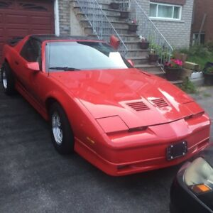 1986 Pontiac Trans AM Firebird - Original T Tops Rare