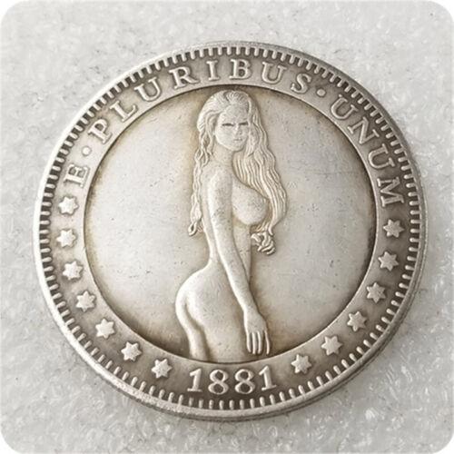 Hobo Coin sexy  long hair naked girl  (850) (DASH) COPPER MORGAN
