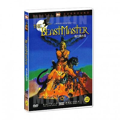The BeastMaster (1982) DVD - Marc Singer (New *Sealed *All Region)
