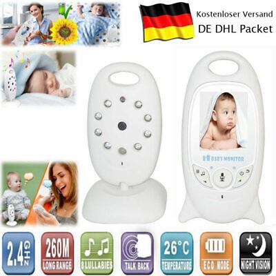 Digitale Video-babyphone (Digital Wireless Babyphone mit Kamera Farbe Video Monitor Nachtsicht Babypflege)