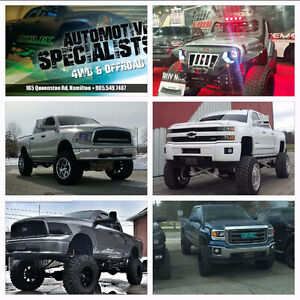 Lift Kits , Rims , Tires And all other offroad needs