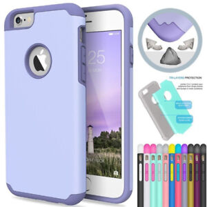 $3 -NEW Protective phone case cover iPhone 5S or SE (Plum/Black)