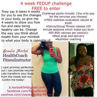 4 week FED up weightloss challenge