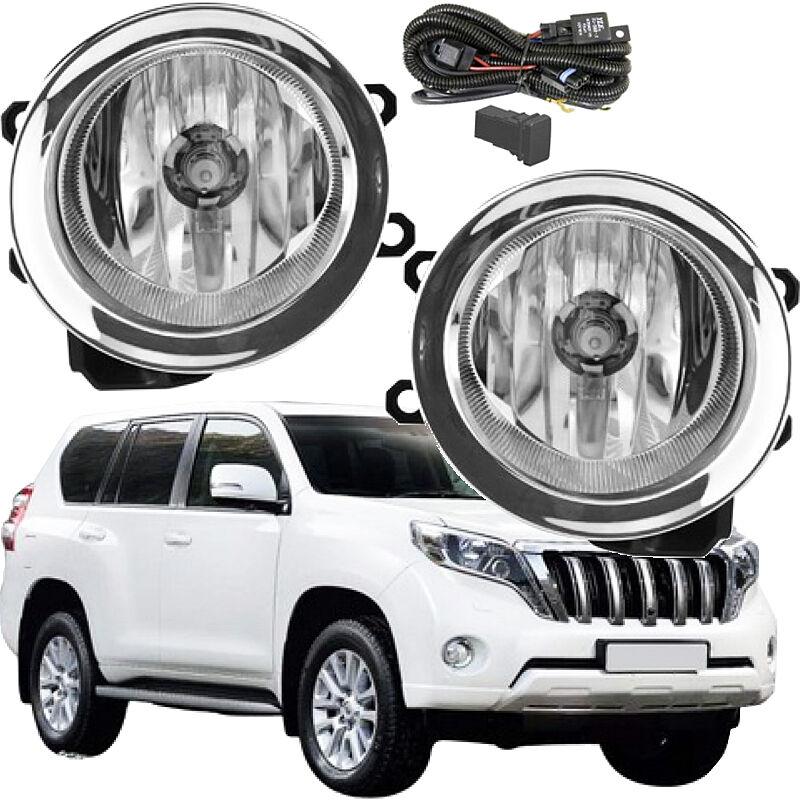 Front Fog Lamps Driving Lights For Toyota Land Cruiser Prado 2014 ~ 2016 On/1Set