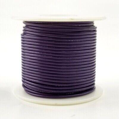 22 Awg Gauge Solid Violet 300 Volt Ul1007 Pvc Hook Up Wire 100ft Roll 300v