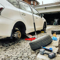 Snow Tires and Summer tires Change over Mobile tire guy