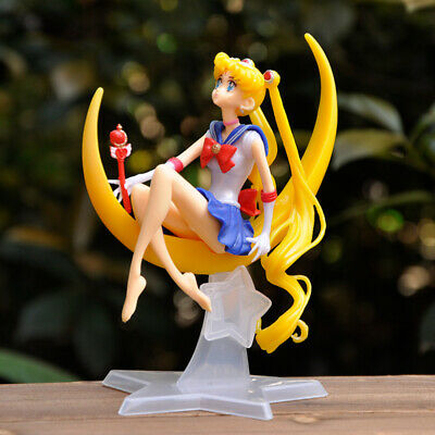 Nice Classic Comic Anime Sailor Moon PVC Action Figures Dolls Toys Doll -