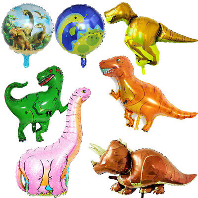 Photo Prop Giant Dinosaur Foil Balloons Birthday Party For Kids Boys Baby - Birthday Parties For Boys