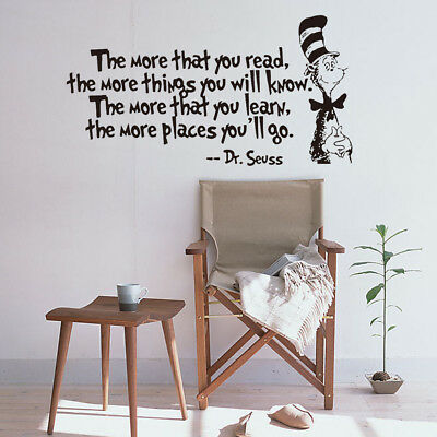 Wall Decal Home Office Inspiration Sayings Decal Bedroom Living Room Decoration ()