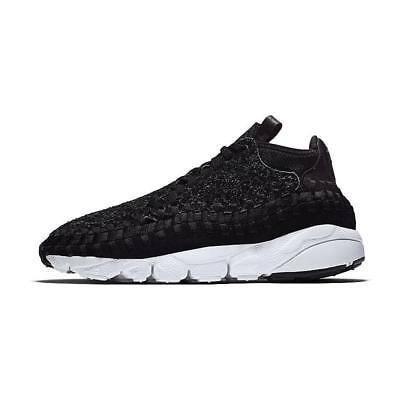 Nike Air Footscape Woven Chukka QS 913929-001 Anthracite Black New Multi Size
