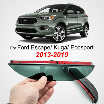 Side Rearview Mirror Rain Guard For Ford Ecosport Escape 2013-2019 Set