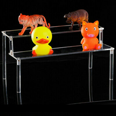Acrylic Display Stand Toy Model Car Accessories Transparent Perspex Shelf Racks