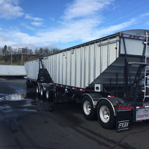 2009 Lode King grain trailer