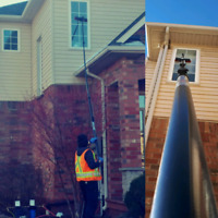 Complete window cleaning services