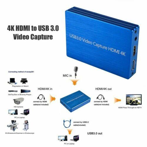 4k hdmi usb 3 0 video capture