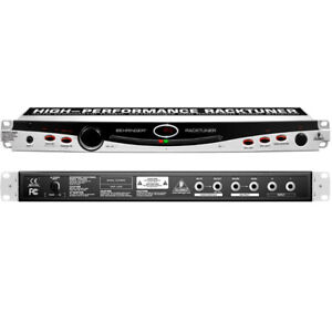 New Behringer BTR2000 2-Channel RACKTUNER and Metronome
