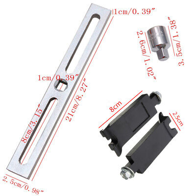 (Portable Adjustable Car Fuel Pump Lid Tank Cover Remove Spanner Wrench Hand Tool)