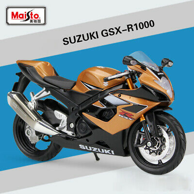 Maisto 31106 1:12 SUZUKI GSX-R1000 Motorcycle Diecast Model For Boys & Girls Toy for sale  Shipping to United States