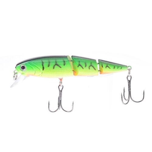 1pc 18cm//26g minnow fishing lures plastic baits hard lures bass crank baits 5 TS