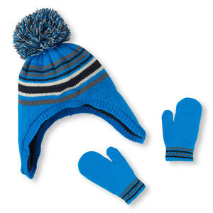 Toddler Boy's Hat & Mitten Set's different styles &size (6M-24M)