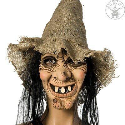 RUB 6240311 Halloween Maske Hexe mit Hut und Haaren Grusel Karneval Fasching (Hexe Maskerade Maske)
