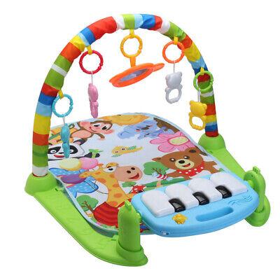 4 en 1 Bebé Gimnasio Suelo Alfombra Juegos Manta Pedal Piano Musical...