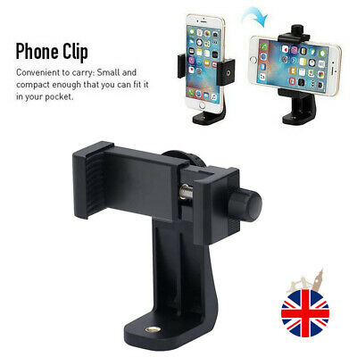 Smartphone Tripod Adapter Cell Phone Holder Mount For iPhone Camera Universal UK