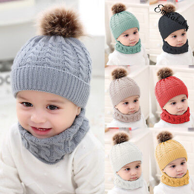 Cute Toddler Girls (Cute Toddler Kids Girl&Boy Baby Infant Winter Warm Crochet Knit Hat Beanie)