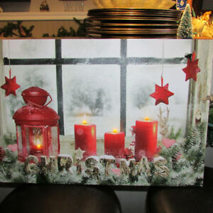 CHRISTMAS PRINT - LIGHT UP AND BLOW OUT CANDLES