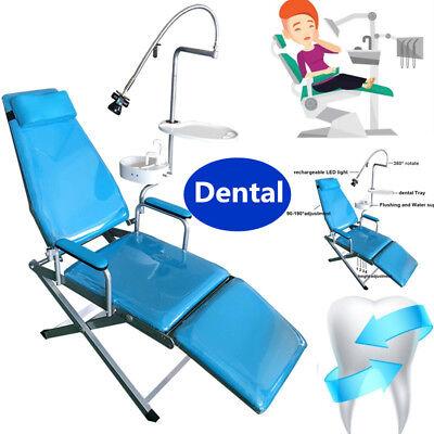 Us Dental Mobile Folding Chair Unitled Surgical Lightwaste Basindental Tray