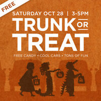 Trunk or Treat – Free family event