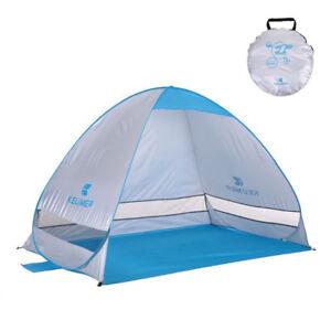 Beach Shade Tent Sun Shelter w/Carry Bag
