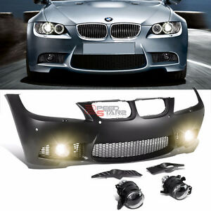 BMW E90 3-Series 09-11 With PDC M3 Style Front Bumper Cover Proj