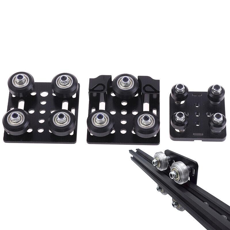 3D Printer V gantry plat set slide plate pulley for 2020 /2040 V-slot wheels J2