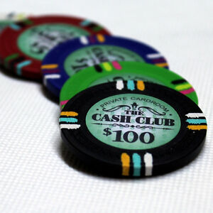 CASH CLUB POKER CHIP SET - CHIPS 1000 W/ CARRIER London Ontario image 4