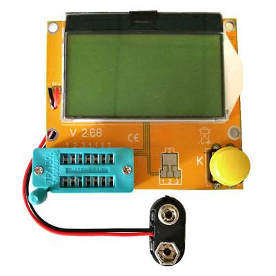 Lcr-t4 Esr Meter Transistor Tester Diode Triode Capacitance Scr Inductance Us