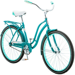 "26"" Schwinn Huntington Womens Ladies Girls Cruiser Bike Teal"