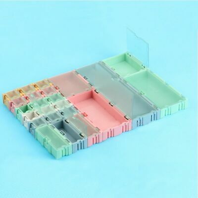 Mini Storage Boxes Electronic Component Practical Jewellery Assorted Kit Cases