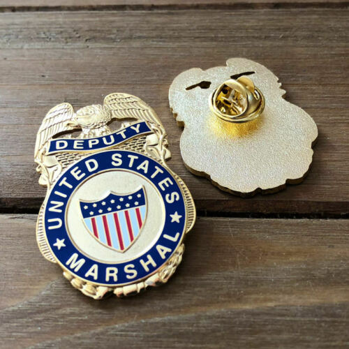 Historical Deputy United States Marshal Lapel Pin