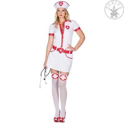 RUB 13203 Krankenschwester Schwester Kostüm Nurse Karneval Fasching - Halloween Krankenschwester Kostüm