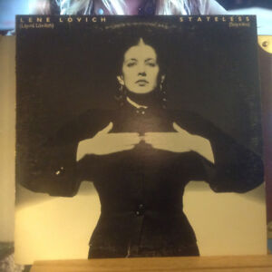 1979 lene Lovich original promo poster advertising album
