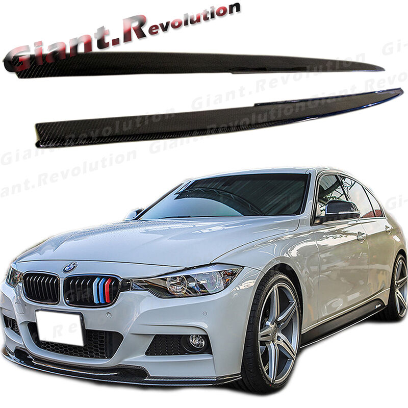 Hot Carbon Fiber Side Mirror Covers Fit BMW M3//M4 F30 3-Series 12-16 Get